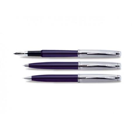 К-кт Scrikss писалка, химикалка и авт.молив 39 Oscar Blue Chrome в кутия лукс