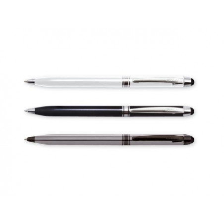 Химикалка Scrikss 599 Touch pen за iPAD, Pearl White в кутия