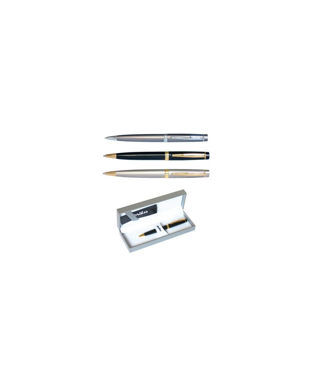 Химикалка Scrikss 38 Fume в кутия лукс