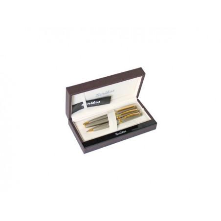 К-кт Scrikss писалка, химикалка и авт.молив 38 Fume в кутия лукс
