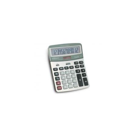 Калкулатор MAS, 12 разр., 190х145 мм, check/correct, метален панел