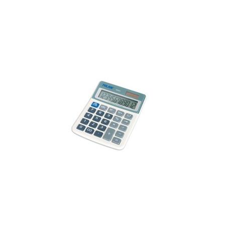 Калкулатор MILAN, 12 разр., 130x101x26, сив