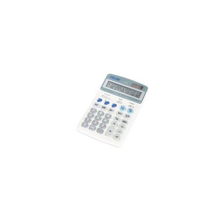 Калкулатор MILAN, 12 разряден, 172x107x35 мм, сив