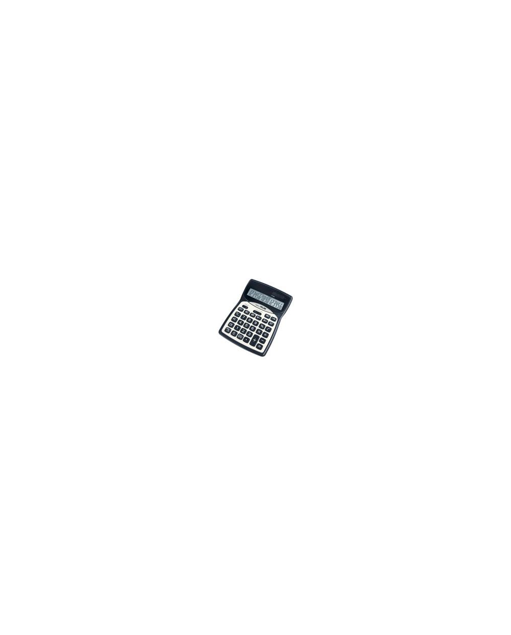 Калкулатор MILAN, 16 разр., 186x135x35 мм, метален панел