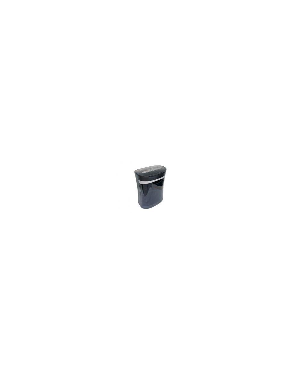 Шредер DesQ за хартия, CD и кред.карти, до 8 л, колелца, 16 л