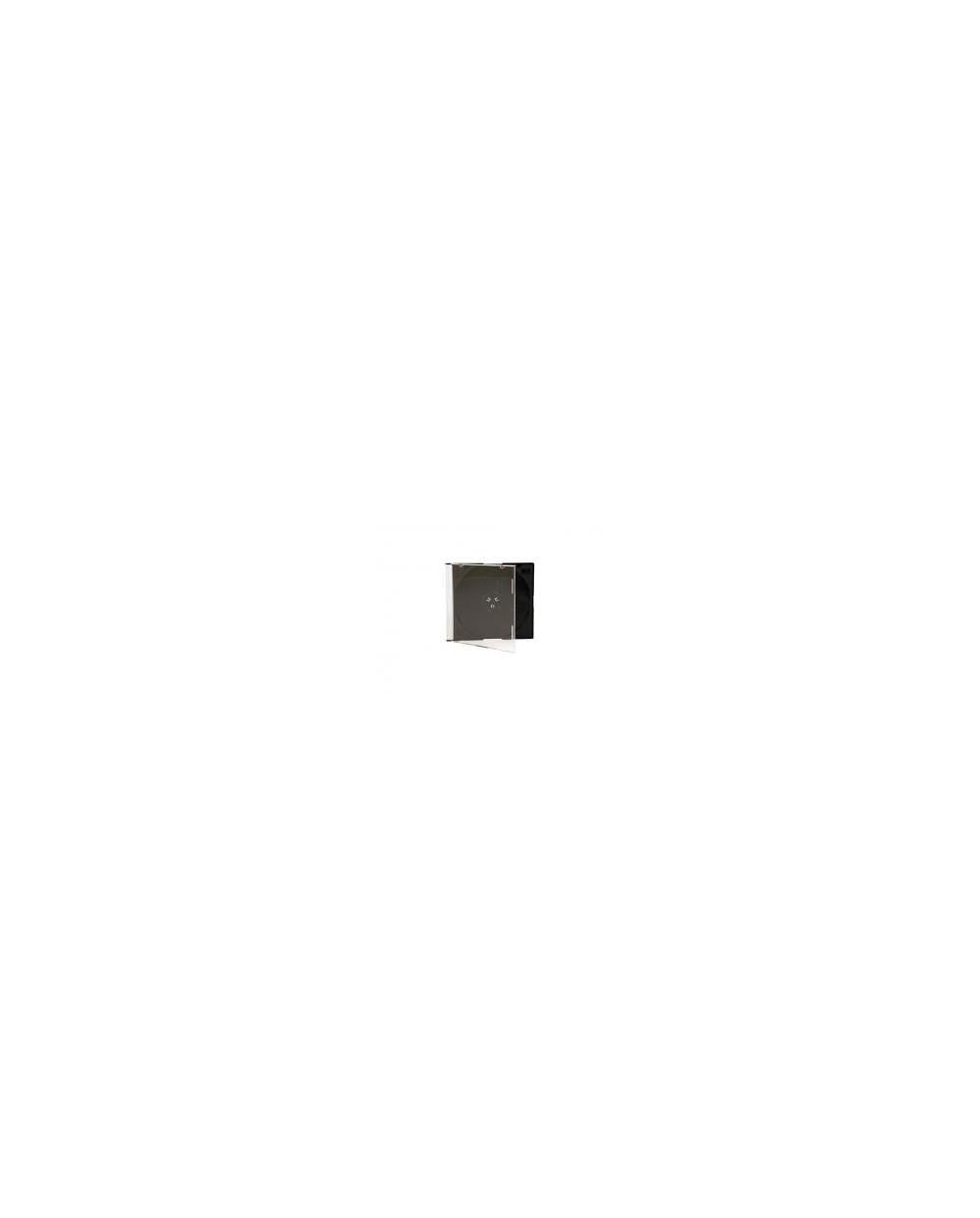 Кутия за CD slim, SPREE, черна 5.2 мм