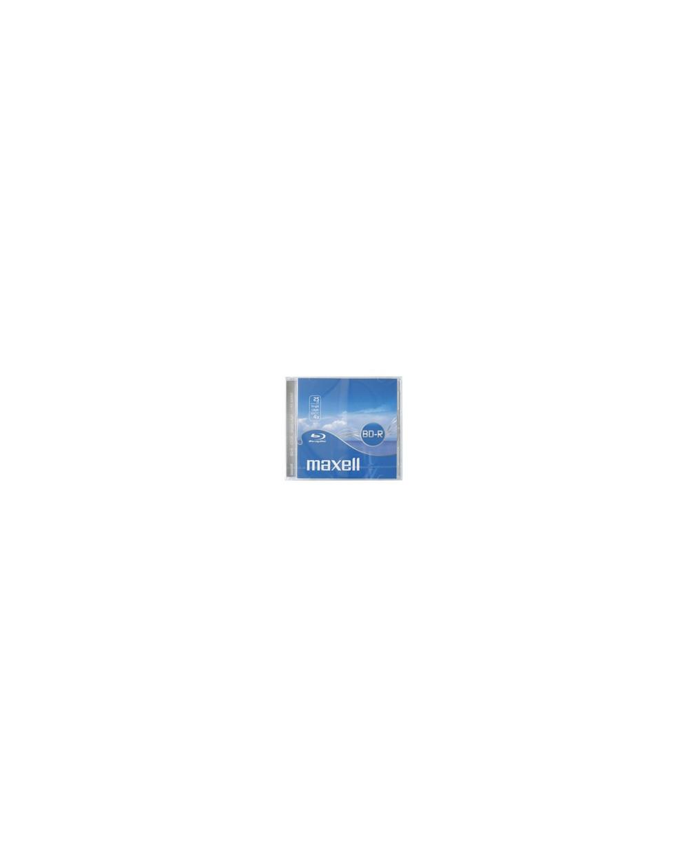BD-R Maxell Blu-ray 25GB 4x, 10 бр. кутия