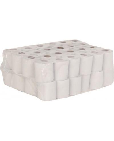 Тоалетна хартия Деко Лукс, 3 пласта, 48 броя, избелена