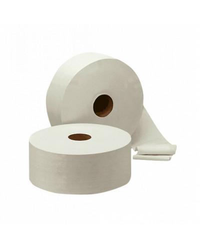 Тоалетна хартия Mini Jumbo, 3 пласта, 400 гр., избелена