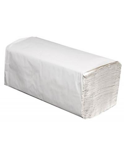 Кърпи за ръце, V-сгъвка, 200 листа, бели