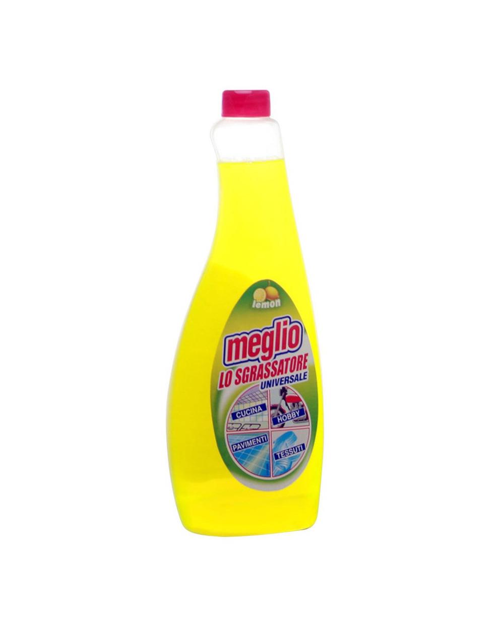 Обезмаслител Meglio Lemon, 750 мл. - пълнител