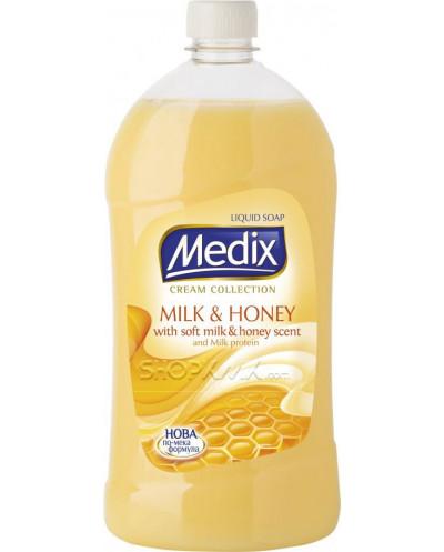 Течен сапун Medix - пълнител, 1000 мл.