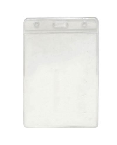 Бадж джоб PVC, А6, вертикален,105х150 мм