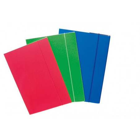 Папка BLASETTI с ластик гланц,цветен картон, А4