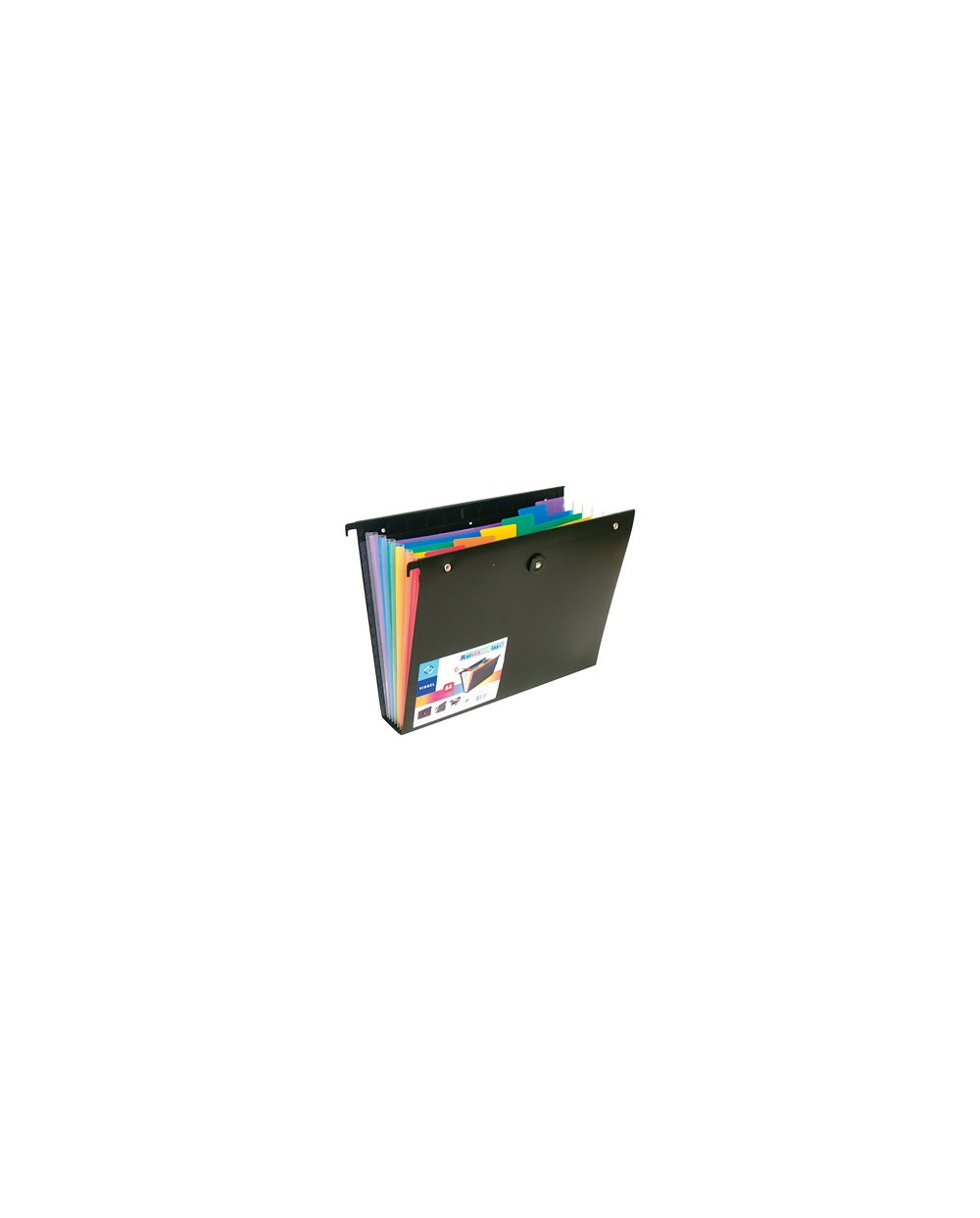 Папка VIQUEL с 6 разд.и ластик за картотека, Rainbow Class, РР