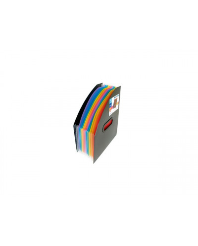 Органайзер VIQUEL вертикален за док.с 12 разд., Rainbow Class, РР