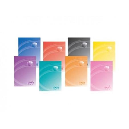 Тетрадка Elisa Simply, A4 тв.корица, 96 л, 80 г/м2, ред