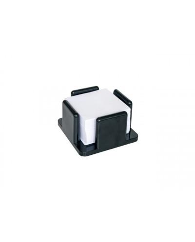 Поставка за харт.кубче, обемна, черен ECOM