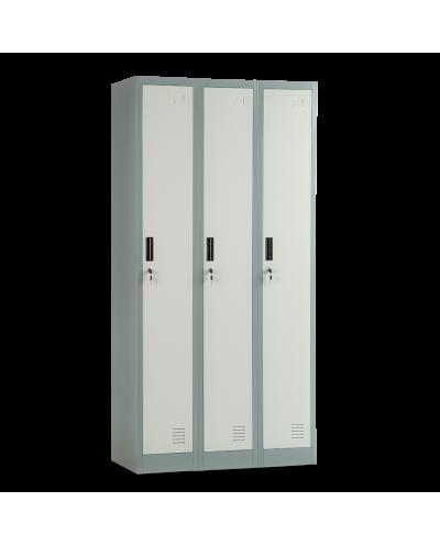 Метален шкаф Carmen CR-1242 J LUX, троен