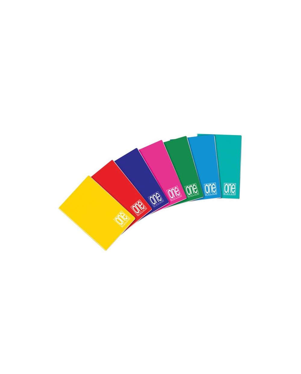 Тетрадка BLASETTI, A5 UV One Color шита, 42 л.ред, 80 г/м2