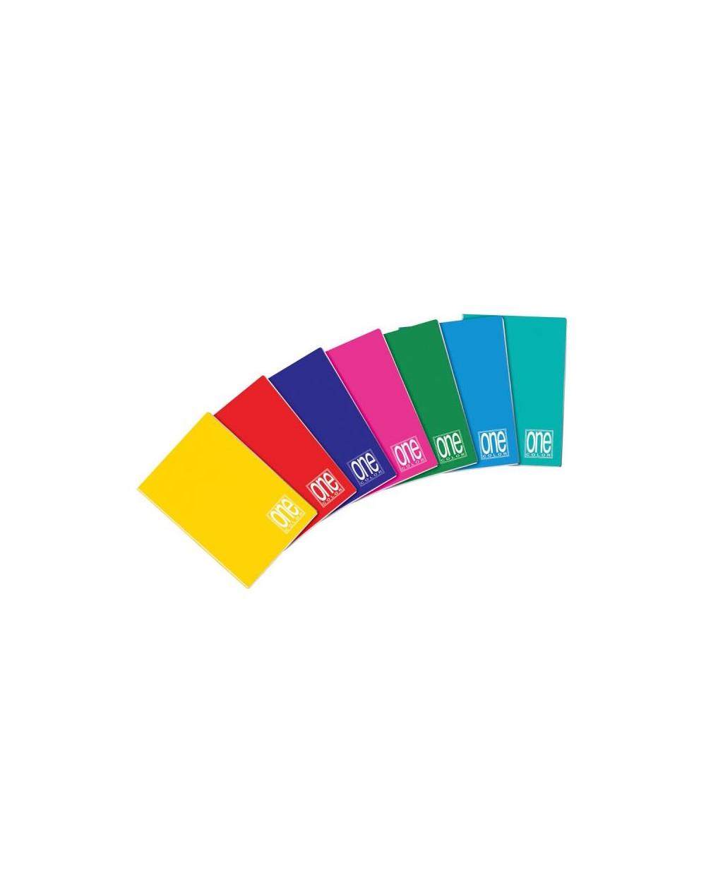 Тетрадка BLASETTI, A5 UV One Color шита, 42 л.5x5, 80 г/м2