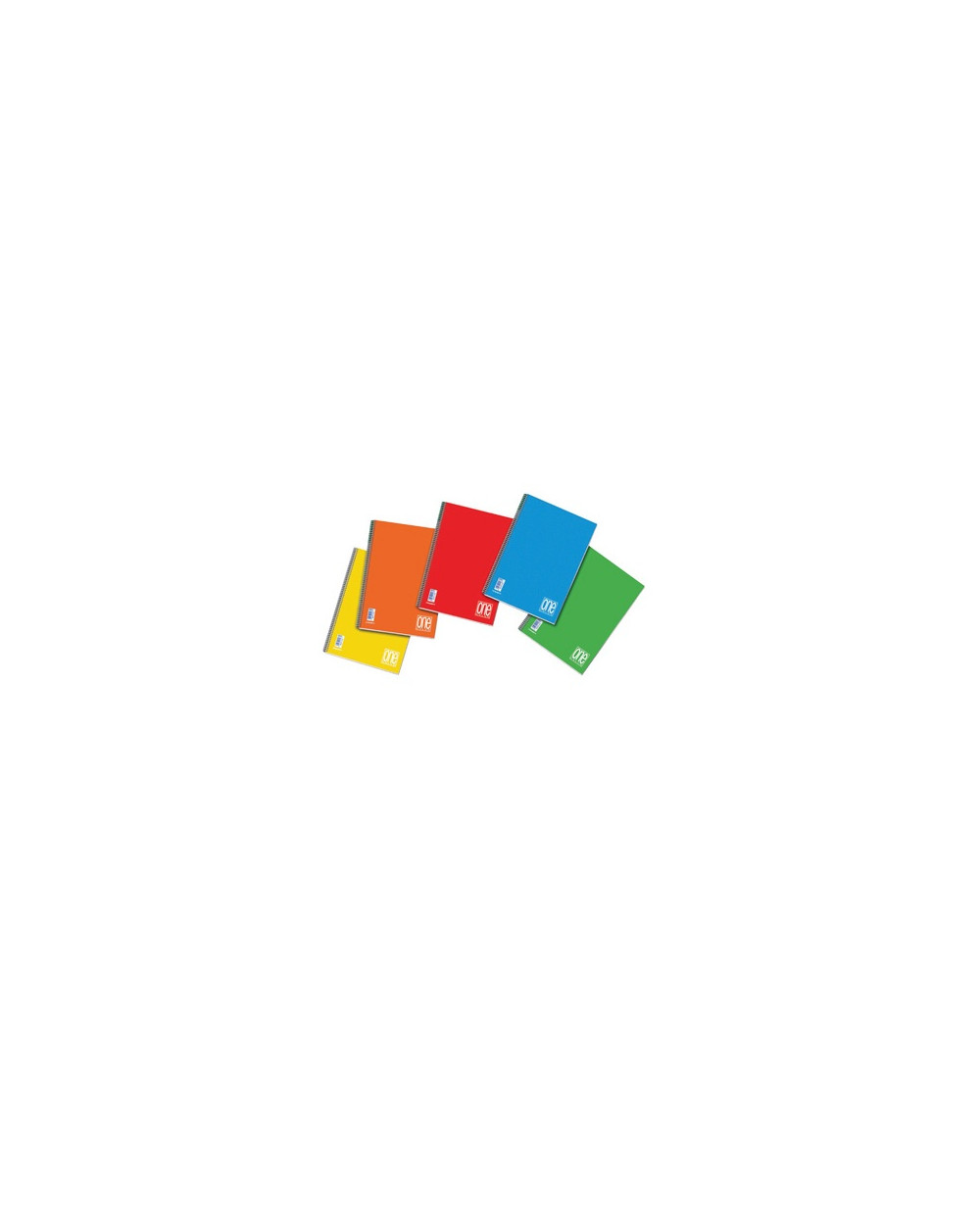 Тетрадка BLASETTI, A5 UV One Color спир., 60 л.ред, 80 г/м2
