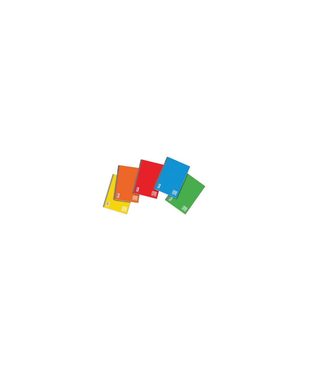 Тетрадка BLASETTI, A4 UV One Color спир., 60 л.ред, 80 г/м2
