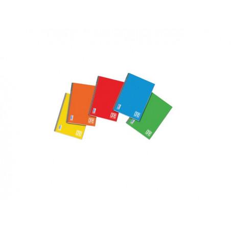 Тетрадка BLASETTI, A4 UV One Color спир., 140 л.ред, 80 г/м2