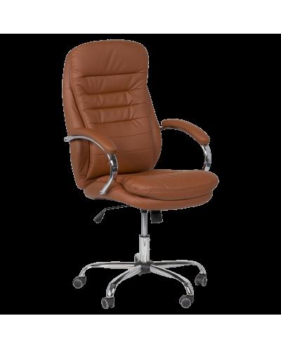 Офис стол CARMEN 6113 мостра цвят Изкрящо кафяво