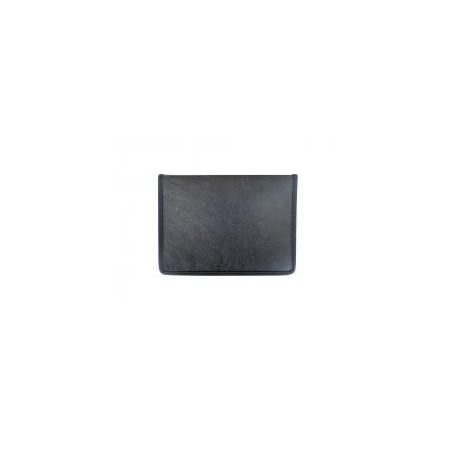 Папка с цип за документи, 250x350, черна