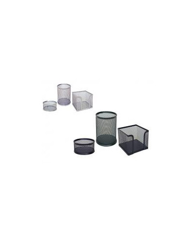 Комплект метална мрежа, 3 части, черен