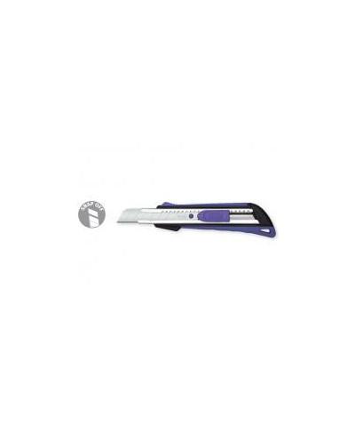 Нож макетен гумиран, острие 18 мм