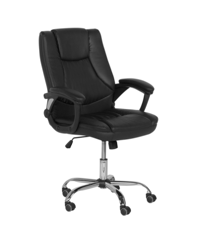 Офис стол Carmen 6133 - черен
