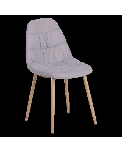 Трапезен стол Carmen 513 - сив VEL