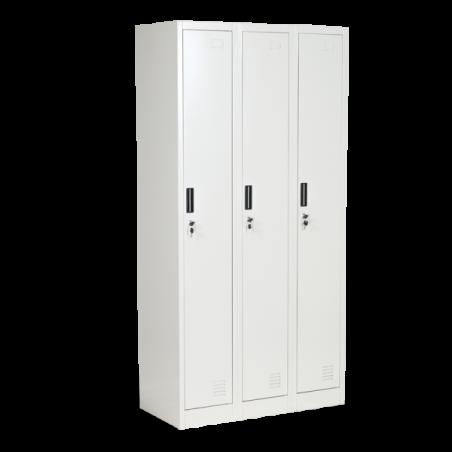 Метален шкаф Carmen CR-1242 J, троен