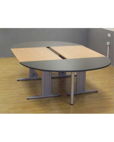 Заседателна маса с метални крака 320/140