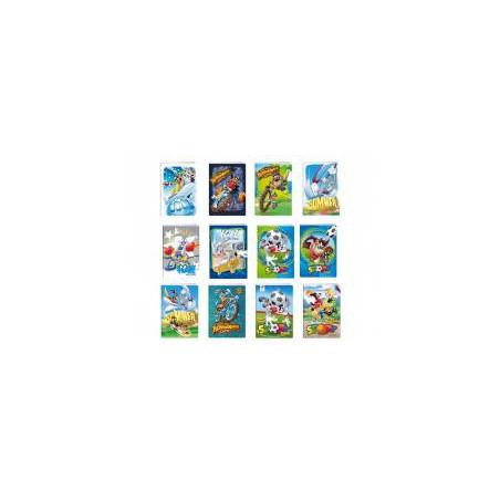Тетрадка A5 2xUV Looney Tunes, 24 л.8х8 каре, 70 г/м2