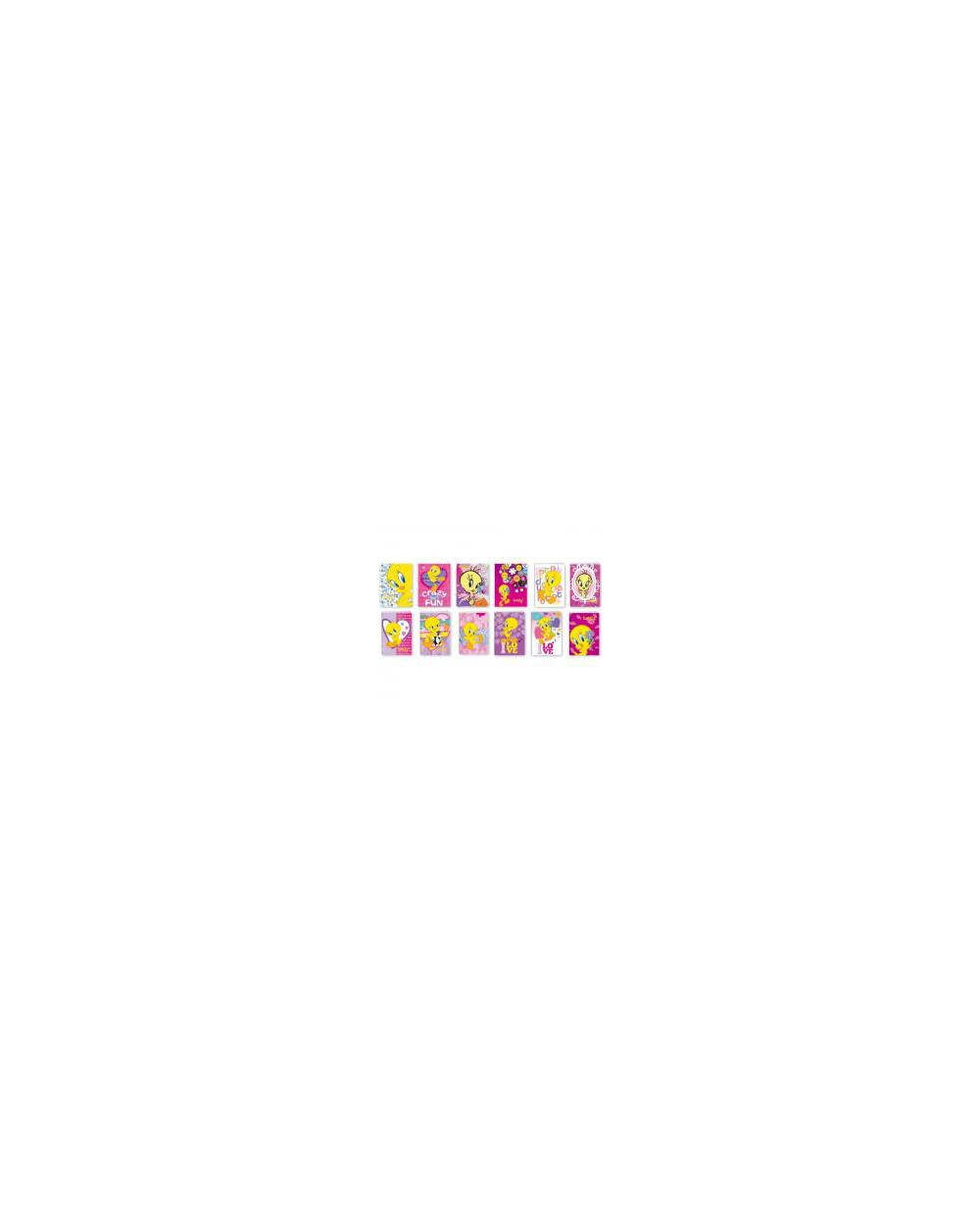 Тетрадка A5 2xUV Tweety, 24 л.ред, 70 г/м2