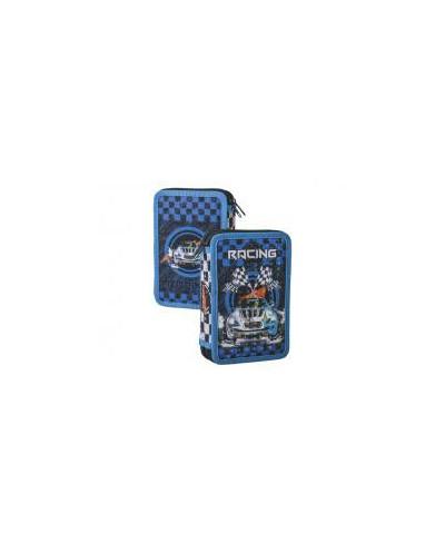 Несесер зареден двоен, Racing blue, 12.5x19.5x5