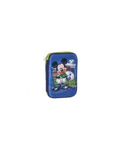 Несесер единичен, 3D Mickey, 23x17x4