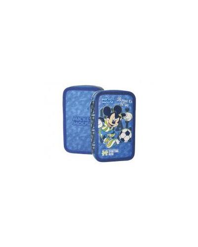 Несесер зареден двоен, Mickey Football 3D, 12.5x20.5x5