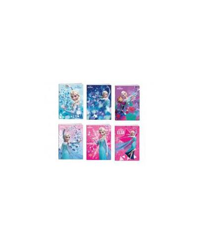 Тетрадка A5 2xUV Frozen, 24 л.ред, 70 г/м2