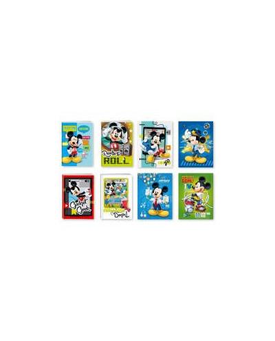 Тетрадка A5 2xUV Mickey, 24 л.ред, 70 г/м2