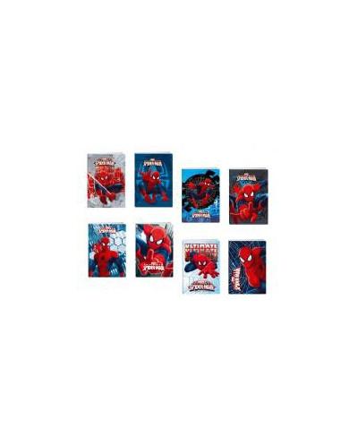 Тетрадка A5 2xUV Spider-Man, 24 л.8х8 каре, 70 г/м2