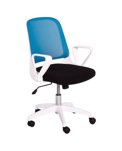 Работен офис стол Carmen 7033 - синьо-черен
