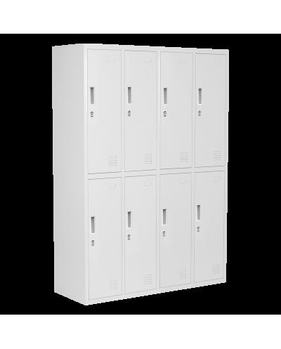 Метален шкаф Carmen CR-1276 J - сив