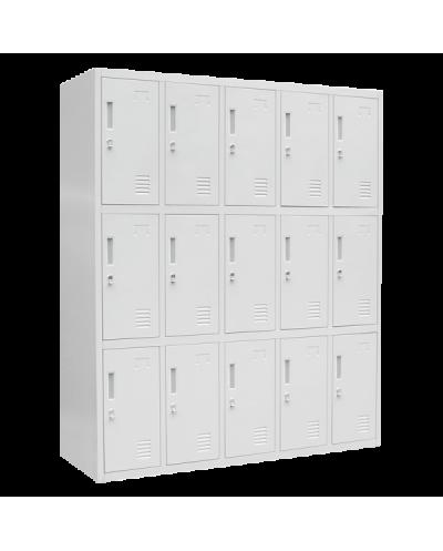 Метален шкаф Carmen CR-1275 J - сив