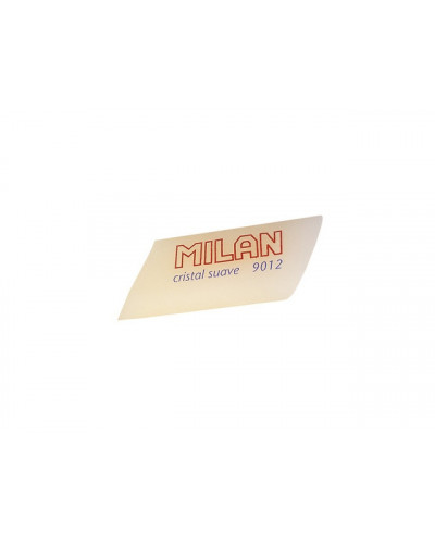 Гума MILAN полупрозрачна, скосена, за паус