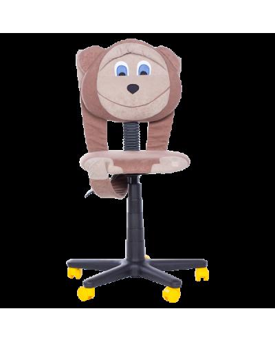 Детски стол Monkey - кафяв