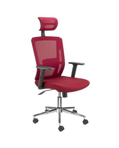 Ергономичен офис стол Top II червен